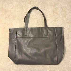 Large Gray Tote Bag